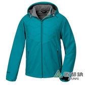 《歐都納 ATUNS》男 Windstopper 防風保暖外套 『藍綠』 G1559M