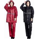 較薄兩件式套裝帶帽風雨衣(2色)...
