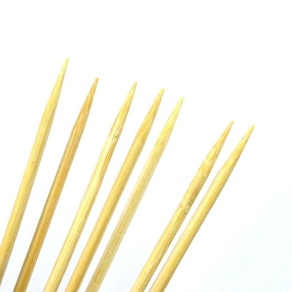 【DM214】烤肉竹籤20cm 竹串 竹籤 木叉 烤肉串 玉米串 免洗餐具 水果叉 EZGO商城