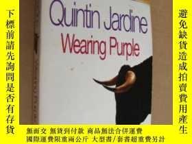 二手書博民逛書店Wearing罕見Purple (Quintin Jardine