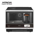 【HITACHI 日立家電】過熱水蒸氣烘烤微波爐 星空銀 MRORBK5500T