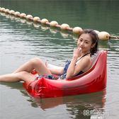 三角透明游泳圈成人男女充氣救生圈加大加厚腋下圈兒童坐騎 韓語空間