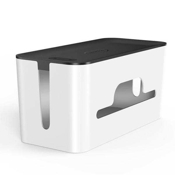 綠聯電線收納盒排插整理數據線條插座充電源線箱桌面集線盒大容量 印巷家居