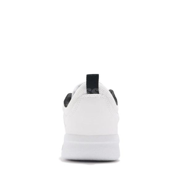 adidas 慢跑鞋 Tensaurus C 白 黑 童鞋 中童鞋 女鞋 小朋友 魔鬼氈 【ACS】 EF1093