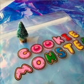【PLAY BAG 】Cookie Monster 魔鬼氈抗菌環保袋 (小型)