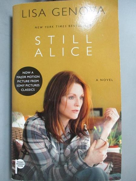 【書寶二手書T1/原文小說_MDO】Still Alice_Genova, Lisa