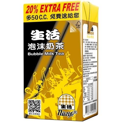生活 泡沫奶茶 300ml (24入)/箱【康鄰超市】