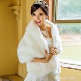 名門新娘婚紗披肩新娘結婚披肩 新款披肩外套 女 秋冬加厚016 早秋最低價
