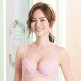 莎薇-O感覺好感洞B-C罩杯蕾絲機能型內衣(棉花糖粉)輕薄透機能設計-冰涼素材-空氣裡打AB4527-LX