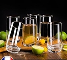 酒杯 樂美雅玻璃杯家用耐高溫喝水杯牛奶杯子簡約耐熱客廳泡綠茶杯套裝【快速出貨八折下殺】