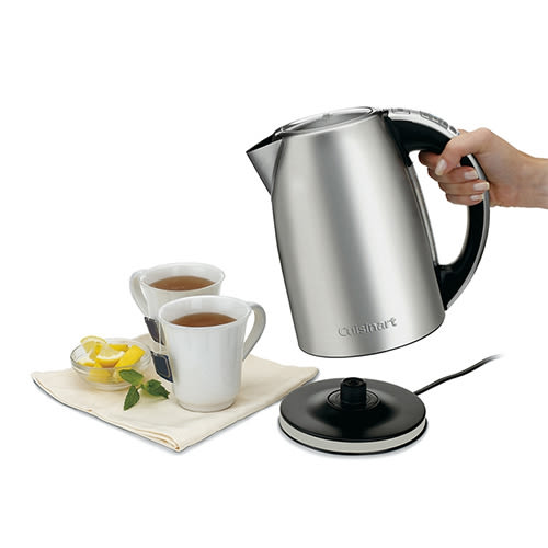 Cuisinart 不鏽鋼溫控保溫電茶壺 1.7L (CPK-17TW)