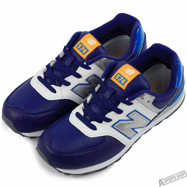 Newbalnce 女 TIER 3 慢跑鞋 藍 -KL574BWY