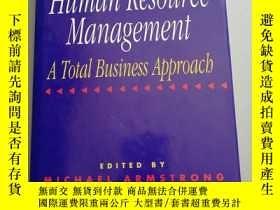 二手書博民逛書店Strategies罕見for Human Resource M