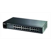 合勤 ZYXEL ES-1100-24E 24埠乙太網路無網管型交換器