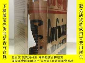 二手書博民逛書店1949年 Confucius:罕見The Man and th