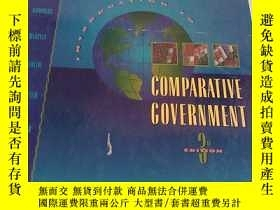 二手書博民逛書店COMPARATIVE罕見COVERNMENTY313255 見