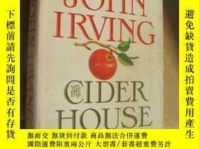 二手書博民逛書店The罕見Cider House Rules 布面精裝大32開+書衣Y146810 John Irving 如