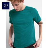 GapFit男裝 運動系列圓領插肩袖短袖T恤 265614-青綠色