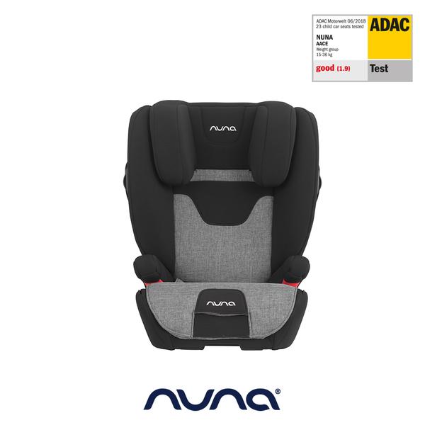 【nuna 官方旗艦店】AACE兒童成長安全座椅-炭灰色