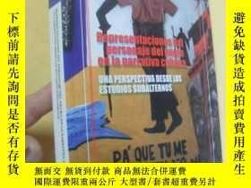 二手書博民逛書店西班牙文原版罕見REPRESENTACIONES DEL PERSONAJE DEL NEGRO EN LA NA
