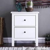 床頭櫃 總度 北歐床頭柜簡約現代簡易柜子儲物柜迷你床邊抽屜式小收納柜 LN6064 【極致男人】