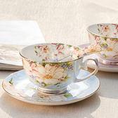 英式骨瓷咖啡杯套裝歐式下午茶茶具 陶瓷簡約家用紅茶杯【  八折下殺】