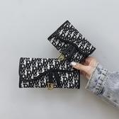 小錢包女短款2020新款韓版超薄折疊小零錢夾復古多卡位長款手拿包 【蜜斯sugar】