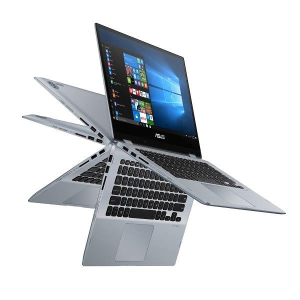 華碩 ASUS TP412UA 藍 480G SSD特仕升級版【i3 8130U/14吋/窄邊框/SSD/翻轉/觸控筆電/Buy3c奇展】TP412U