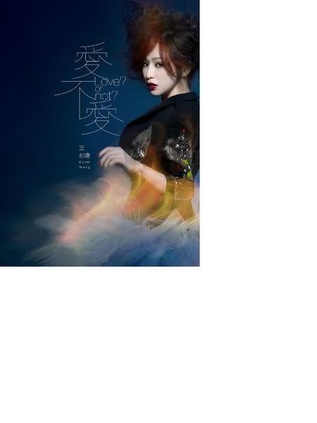 王心凌  愛不愛 CD  正式版 (購潮8)