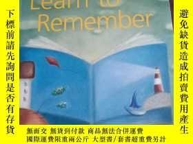 二手書博民逛書店Learn罕見to Remember 提高記憶力 學會記得 英文