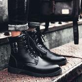 男鞋中筒雪地靴高筒休閒鞋低筒馬丁靴靴子男潮 優家小鋪