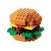 《 Nano Block 迷你積木 》【 美味料理系列 】NBC-217 漢堡 ╭★ JOYBUS玩具百貨