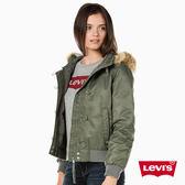 女裝 羽絨服外套 / 連帽毛邊設計 - Levis