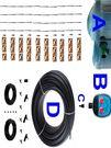 20公升水桶式單孔定時可調滴灌套裝(40組可調滴灌)