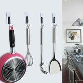 掛鉤強力粘鉤粘膠壁掛免打孔廚房墻壁墻上承重吸盤創意門後掛衣鉤【卡米優品】