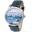 梵谷Van Gogh Swiss Watch梵谷經典名畫男錶 Gent 04-1 海景船