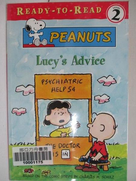 【書寶二手書T1/少年童書_KE6】Lucy s Advice