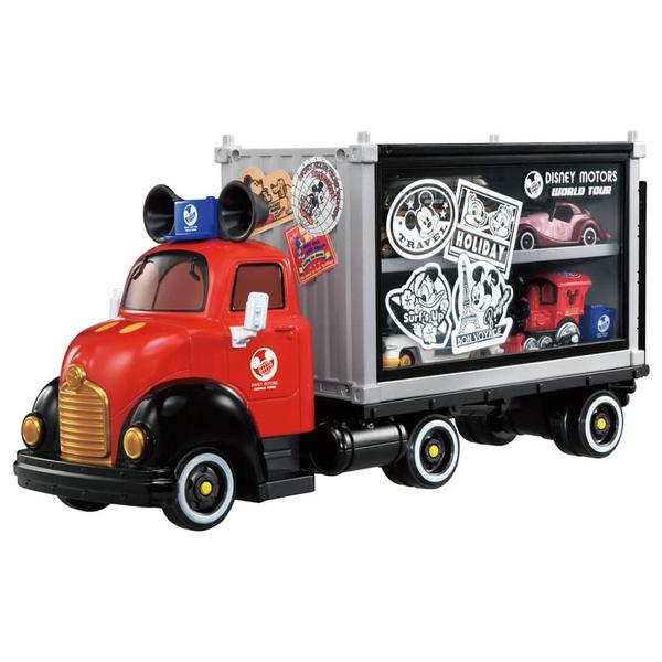 特價 迪士尼小汽車 DM 環遊世界系列 收納貨車_DS17909