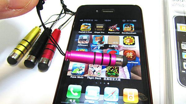 【強尼3c】6色 可愛迷你ipad iphone P1000電容觸屏手寫筆/觸控筆
