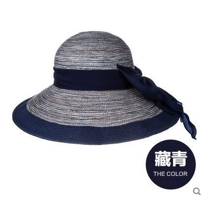 韓版潮大沿防曬遮陽帽防紫外線太陽帽戶外沙灘帽  -com0024