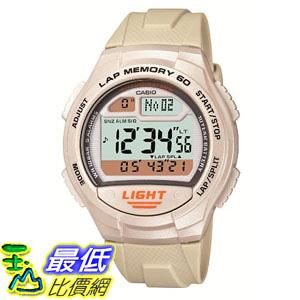 [東京直購] CASIO 卡西歐 SPORTS GEAR 運動錶 W-734J-7AJF 防水10Bar 白色