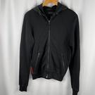 BRAND楓月 PRADA 普拉達 黑色 尼龍連帽 夾克 外套 #S 休閒 外套 保暖 薄外套