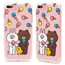 88柑仔店~  GARMMA Line Friends iPhone 7 -空壓氣墊防摔保護軟殼
