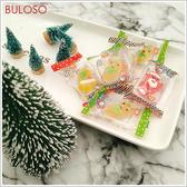 《不囉唆》聖誕Q皮糖 有糖粉 1公斤 (不挑色/款) QQ糖 水果軟糖 造型軟糖 零食【A432562】