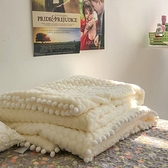 毛毯 超好看的毯子博主同款臥室毛毯辦公室蓋毯客廳休閒毯-Milano米蘭