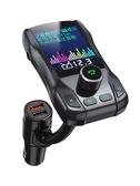 車載MP3播放器多功能藍牙接收器音樂U盤汽車FM收音機車載快充電器