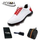 高爾夫球鞋 女士防水鞋子 軟超纖材質 活動鞋釘秀氣女鞋 GSH109WRED