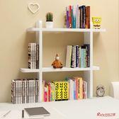 窗台書架 飄窗櫃桌上小書架簡易 學生書桌收納架 辦公室桌面置物架現代簡約T 3色