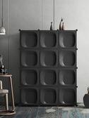 衣櫃簡易宿舍租房實木組合裝家用挂簡約現代經濟型兒童小布藝衣櫥
