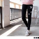 《KL0374》俏麗星星燙印造型內搭褲 OrangeBear